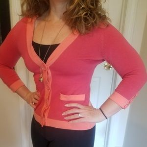 Pink and Coral Cardigan NYC
